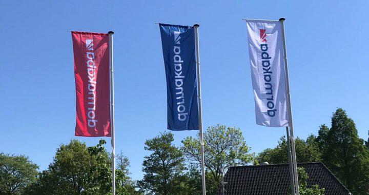 Vlaggen voor Dormakaba